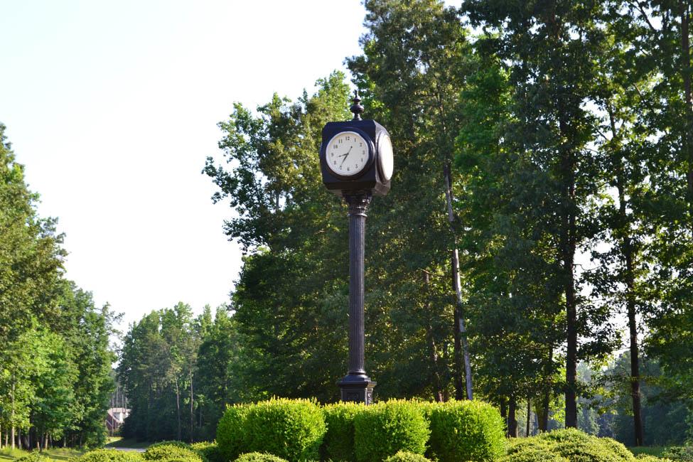 Clocktower in Augusta roundabout